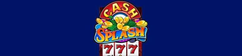 Cash Splash - slot med progressiv jackpott
